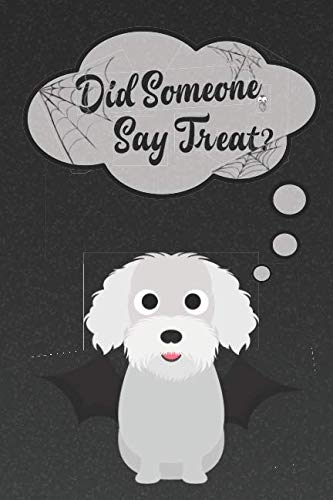 Bichon Frise Lined Notebook: A Halloween Themed Notebook For Bichon Lovers (Dog Halloween Notebooks and Journals) -