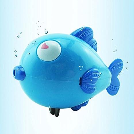 Cido Dibujos Animados Pescado Bebé Juguete de Baño de Agua Animal Toddler Baño de Ducha Flotador de Natación Accesorios: Amazon.es: Juguetes y juegos