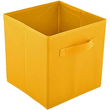 Amazon Com Sodynee Foldable Cloth Storage Cube Basket