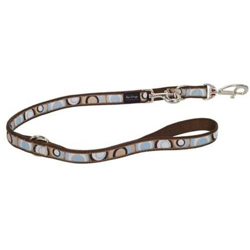 Red Dingo Circadelic Brown multi-purpose dog leash 6,5ft XS