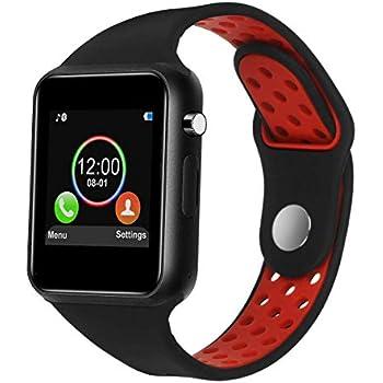 ea0052259781 IOQSOF - Reloj Inteligente con visualización táctil y cámara para teléfonos  Android