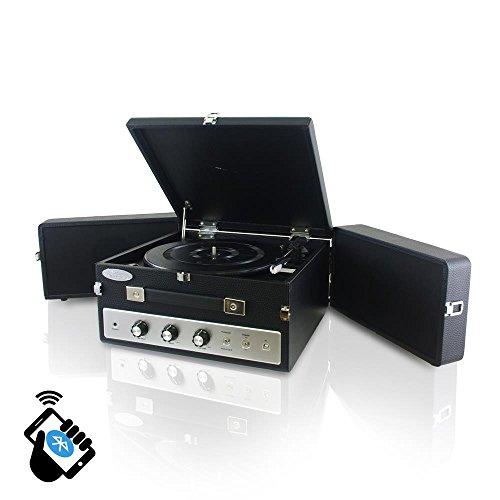 pyle audio portable turntable - 3