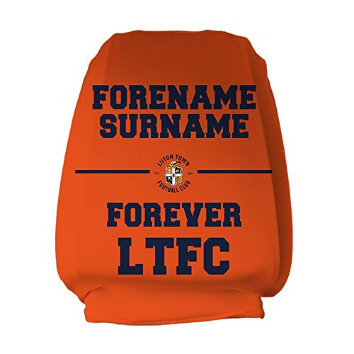 Official Personalised Luton Town FC Forever Headrest Cover