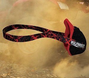 Wolfsnout All Sport Dust Mask Red