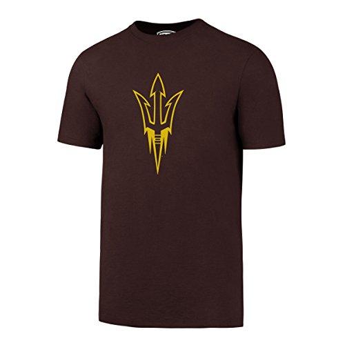 OTS NCAA Arizona State Sun Devils Men's Rival Tee, Large, Dark (Athletic T-shirt Hat)