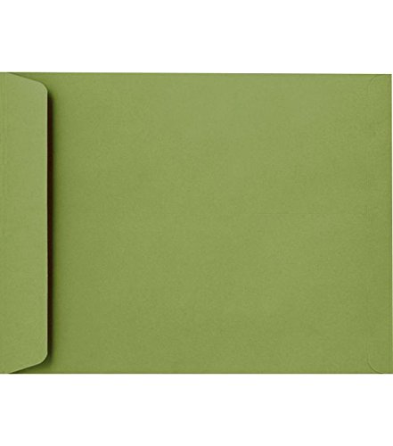9 x 12 Open End Envelopes - Avocado (500 Qty.)