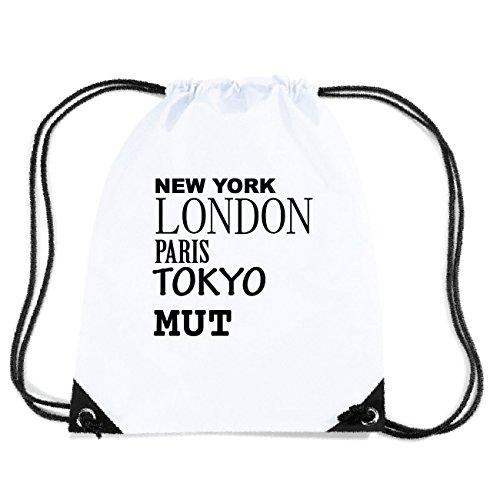 JOllify MUT Turnbeutel Tasche GYM3127 Design: New York, London, Paris, Tokyo