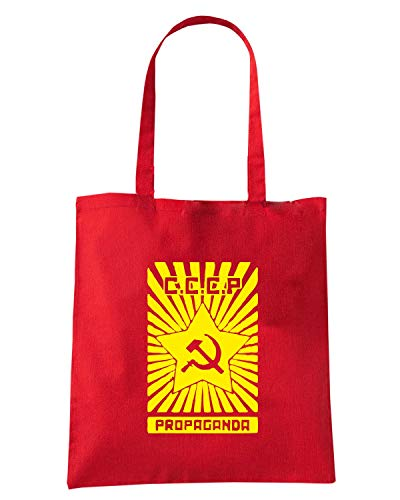 PROPAGANDA Speed VINTAGE Borsa SOVIET Shirt Shopper Rossa TCO0110 xTqO6xw