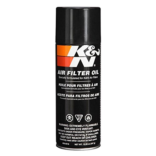 K&N Air Filter Large Size Service Kit Cleaner and Red Oil Plus 2 K&N Stickers Included by MIDWEST CORVETTE (Image #2)