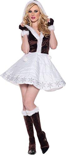 Ice Eskimo Adult Costume Size 4-6 -