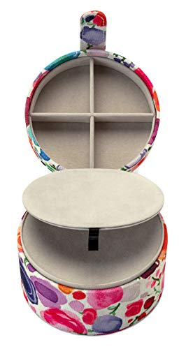 (Kate Spade New York Women's Travel Jewelry Organizer for Rings/Earrings/Necklaces, Floral )