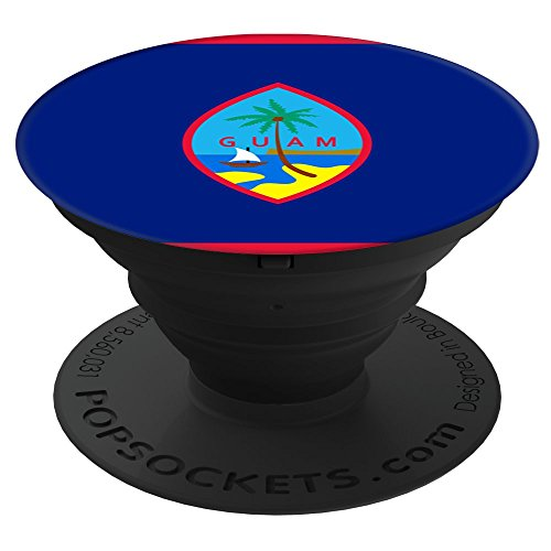 Flags Of The World Apparel Co  Guam Flag Popsockets Stand For Smartphones And Tablets