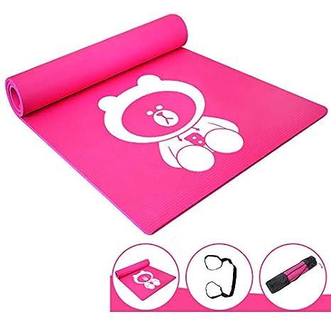 LXMBox Estera de Yoga para niños/Práctica para Principiantes ...