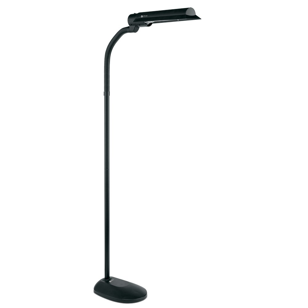Ottlite t81g5t shpr 18 watt wing shade floor lamp black ottlite t81g5t shpr 18 watt wing shade floor lamp black amazon geotapseo Image collections