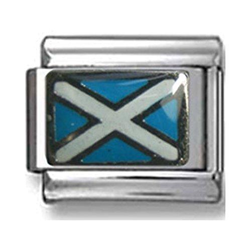 Scotland Flag Italian Charm (Italian Charm Display)