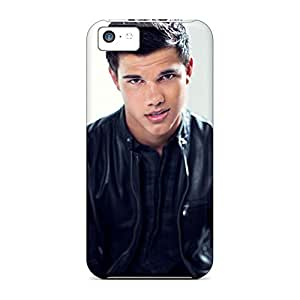 Customized mobile phone cases Awesome Look Strong Protect iphone 5c - taylor lautner