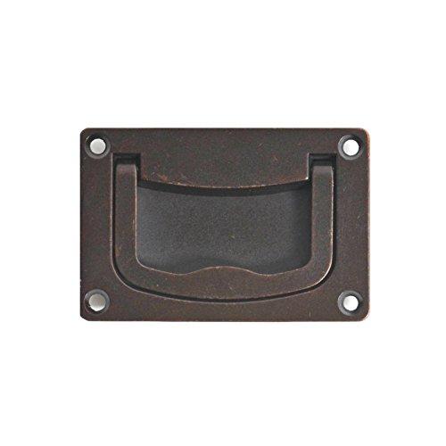 Bosetti Marella 100111.22 Brass Recessed Pull, 2.95-Inch by 1.97-Inch, Oil Rubbed Bronze