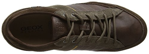 Geox Men's Snake B Low-Top Sneakers Cigar 55VYAv