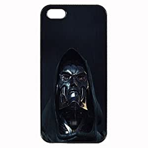 Doctor Doom Unique Custom Image Case iphone 5 case , iphone 5S case, Diy Durable Hard Case Cover for iPhone 5 5S , High Quality Plastic Case By Argelis-sky, Black Case New