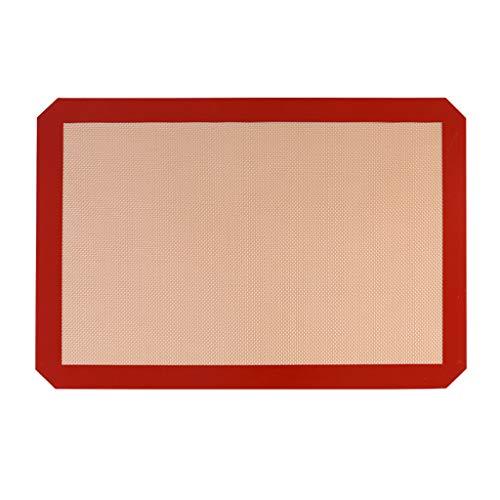 Finedayqi  Silicone Mat 3 Pcs Anti-Adherent Canvas Baking Sheet Patisserie Carpet
