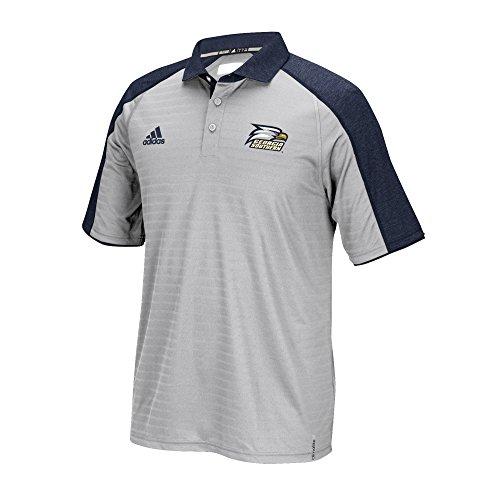 adidas NCAA Georgia Southern Eagles Men's Sideline Climalite Polo Shirt, Small, (Georgia Southern Eagles Golf)