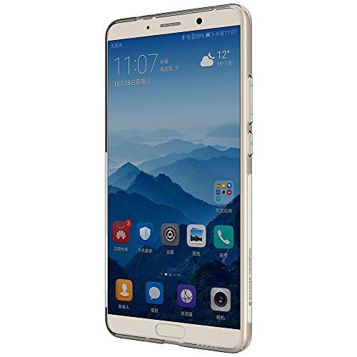 Logements 10 Mate Transparent Anti Arrière Et Nature Pour De Huawei Gel Protecteur dérapant Nillkin cZ7pOO