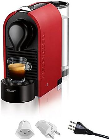 Nespresso TURMIX tx180 U Mat Red Cápsula de goteo cafetera eléctrica, Suiza, incluye adaptador): Amazon.es: Hogar