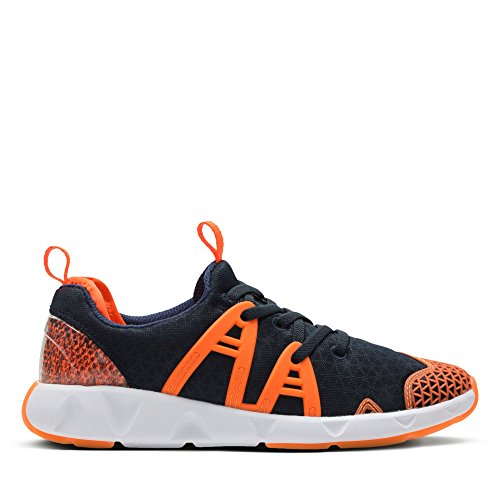 Sports LuminousRun Trainers Boys Blue Clarks Junior BPAqBt