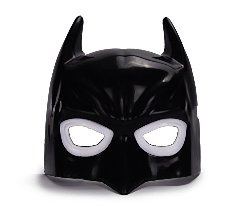 REINDEAR Comics Costume Superhero LED Light Eye Mask US Seller (Batman) ()