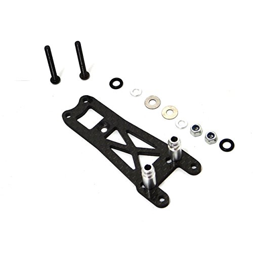 Hot Racing VTH28G Graphite Front Shock Mount Twin Hammer (Chassis Shock)