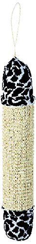 Savvy Tabby Wild Time Sisal Stick Pet Toys, Black