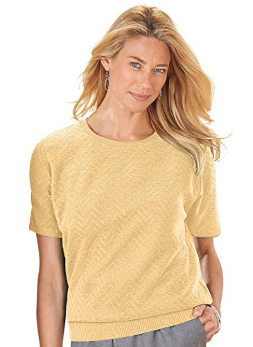 Alfred Dunner Textured Sweater ()