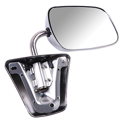SCITOO Side Mirrors Fit Chevrolet GMC Truck Towing Mirror Replacement Side View Stainless Steel Manual Folding Door Mirror for 1973-1991 Chevrolet Blazer Suburban 1973-1987 GMC Jimmy 1978-1991 Van