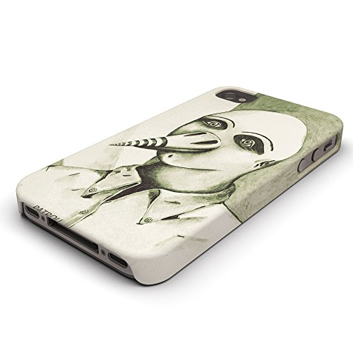 Koveru Back Cover Case for Apple iPhone 4/4S - Head Snowboard