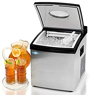 MaxiMatic MIM-5802 Mr Freeze Portable Ice Maker, Stainless Steel (B00C8C5ISW) | Amazon price tracker / tracking, Amazon price history charts, Amazon price watches, Amazon price drop alerts