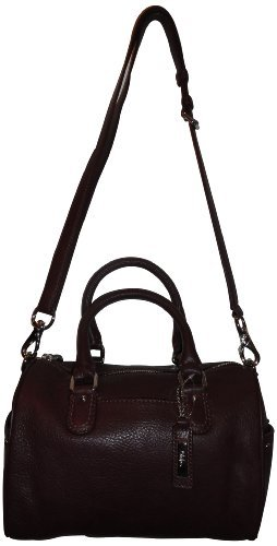 Women's Cole Haan Purse Handbag Jade Small Village Pinot Noir