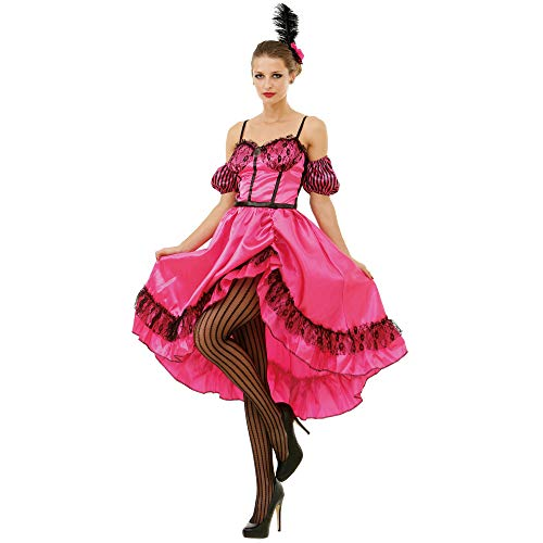 Boo Inc. Saloon Sweetheart Halloween Costume Dress | Wild West World Madam Cosplay, L