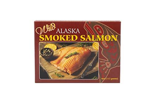 Alaska Seafood Smoked Pacific Salmon 4oz fillet