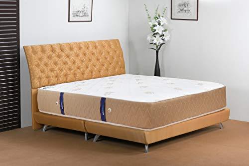 Euro Dreams Memory Foam 10 inch Single Size Pocket Spring Mattress  White, 78x36x10