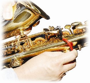 Stickystop for Soprano Saxophone (G# and C# Keyclamp)