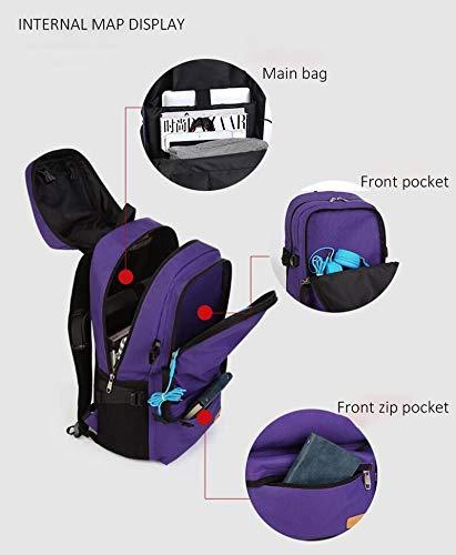 Viaggio Da Capacità Grande Per Tascabile Blue Con Zaino Royal Notebook Kaka Bottone TzIxntqHt