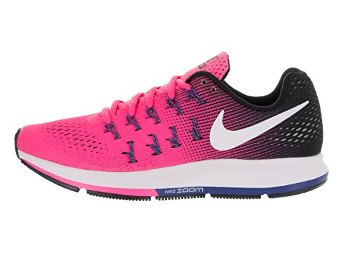 NIKE Women's Air Zoom Pegasus 33 Pink Blast/Black/Dark Purple Dust/White outlet from china 100% guaranteed for sale 1OeOf1F