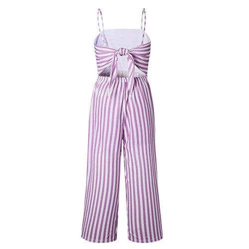 Stripe Alaix Pour Strap Combinaison Combi Salopettes Sexy Combinaisons Lace Spaghetti Mesdames Femmes Up Les short Rose Bandage XWwpqrX