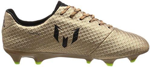 Adidas Messi 16.1 FG, Scarpe per Allenamento Calcio Uomo, Marrone (Bronzo/Cobmet/Negbas/Versol), 43.5 EU