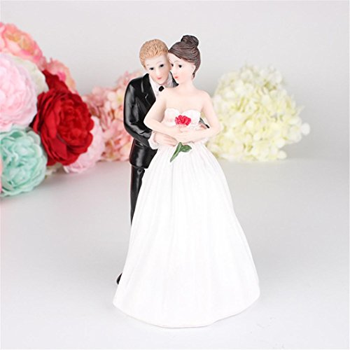 Butterfly Kisses Wallpaper (Kimanli Romantic Bride and Groom Wedding Cake Topper Couple Hug Kiss Bridal Decoration)