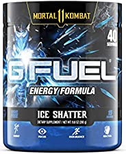 G Fuel Sub Zero's Ice Shatter (40 Servings) Elite Energy and Endurance Powder 9.8 oz. (Inspired by Mortal