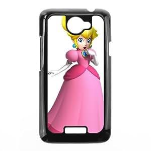 HTC One X Cell Phone Case Black Super Smash Bros Princess Peach Idbaz