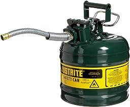 Justrite 7220420 AccuFlow 2 Gallon, 9.50\
