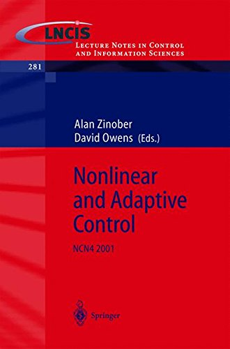 Nonlinear and Adaptive Control: NCN4 2001 (Lecture Notes in Control and Information Sciences)