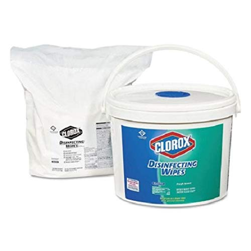 An Item of Clorox Disinfecting Wipes, Fresh Scent (700ct. Bucket) - Pack of 1 - Bulk Disc by Brand of Clorox (Image #1)